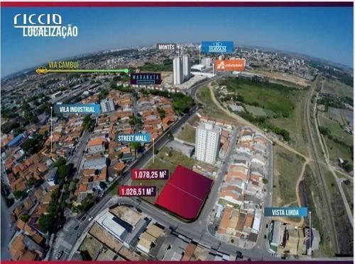 Terreno - Vila Industrial - Ref: 8371 - V-ri4000