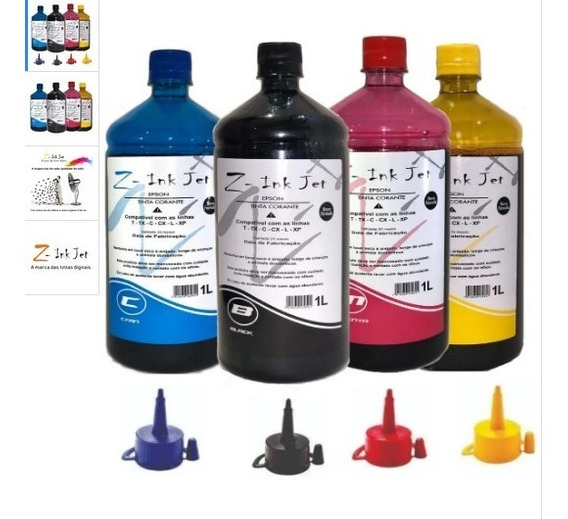 4 Litros Tinta Impressora Ecotank L220