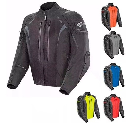 Campera Moto Joe Rocket Atomic 5.0 Rojo Protecciones