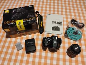 Câmera Nikon D5300 Dslr Lente 18-55mm Vr