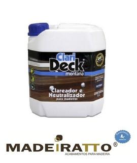 Clarideck Clareador E Neutralizador - 5 L
