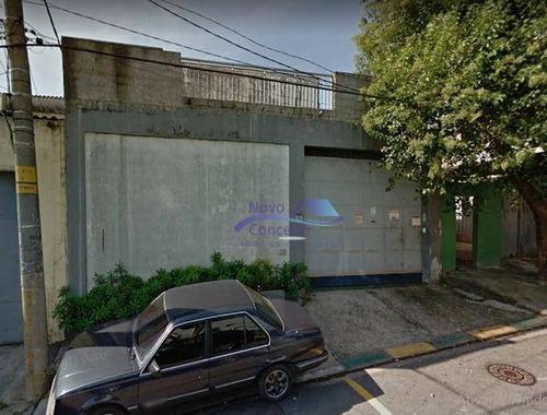 Imagem 1 de 9 de Galpão Para Alugar, 430 M² Por R$ 6.000,00/mês - Vila Nova York - São Paulo/sp - Ga0074