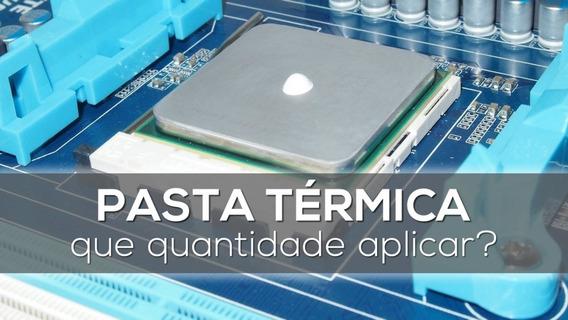 Pasta Térmica Prata 1g Para Intel Atom Quad Xeon I3 I5 I7