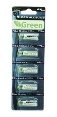 Pilha Bateria Alcalina 12v 27a Cartela Com 5 Unidades