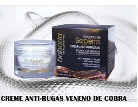 Creme Facial Anti Rugas Veneno Serpente 50ml