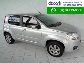 Fiat Uno 1.4 Economy (flex) Prata - 2012/2013