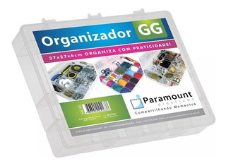 Box Caixa Organizador Paramount 20 Divisorias Gg - 163