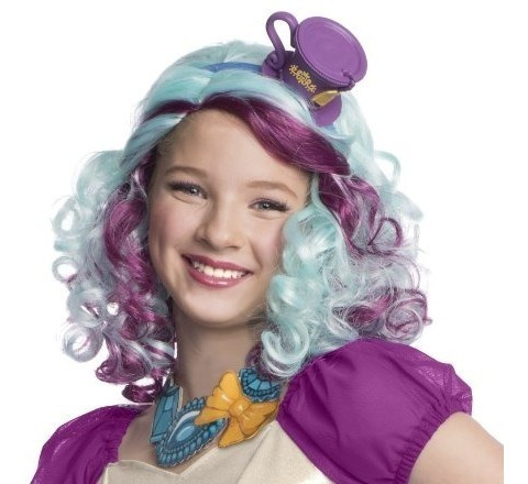 Peluca Sombrerero Madeline De Rubie Con Casco