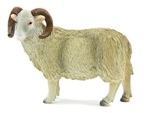 White Face Curly Horn Sheep (ram) De Mojo