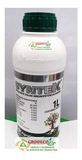 Fertilizante Foliar Syntek 1l Fosforo 26.6% + Potasio 38.0 %