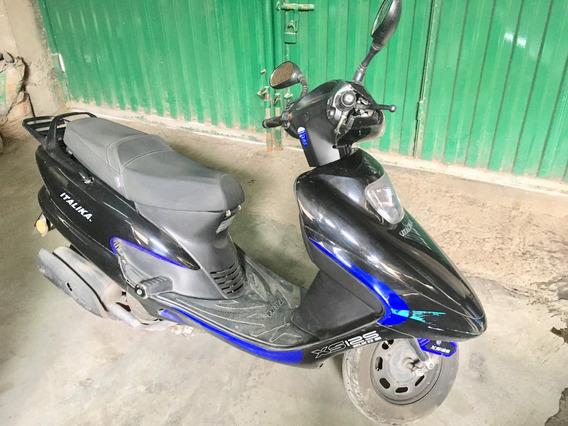 Moto Scooter Italika Xs125 Con Garantía + Accesorios