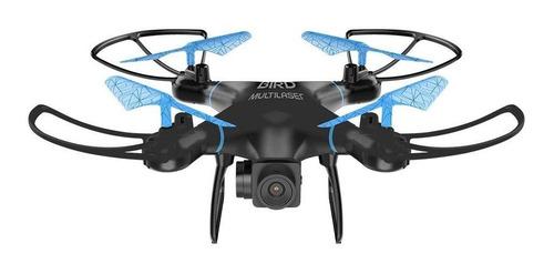 Drone Multilaser Bird ES255 com cámara HD preto e azul