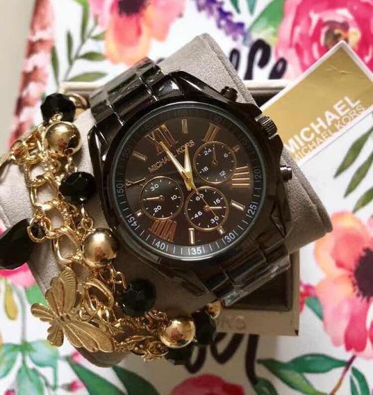 Relógio Preto Inspired