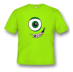 Camiseta Infantil Engraçado Mike Wazowski Monstros Sa C091vl