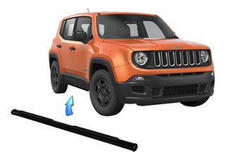 Estribo Tubular Oblongo Preto Jeep Renegade 2015 2020