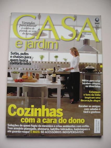 Revista Casa E Jardim - Nº 644 - Cozinhas Com A Cara Do Dono