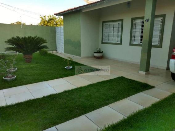 Casa Com 3 Dormitórios À Venda, 149 M² Por R$ 420.000,00 - Boa Esperança - Cuiabá/mt - Ca1155