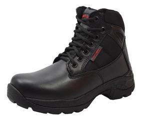 Bota De Servicio Para Mujer Duty Gear Hontin7403 Negro Rudos
