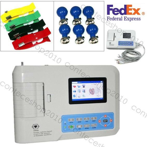 Contec Ecg300g Electrocardiógrafo 3 Canales Electrocard-3055