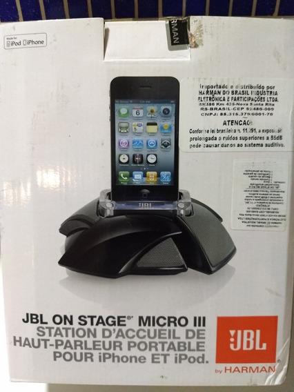 Jbl On Stage Micro Iii Para iPhone 3, 4 E iPod