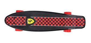 Skate Patineta Niños Ferrari Sk3600 Rojo O Negro