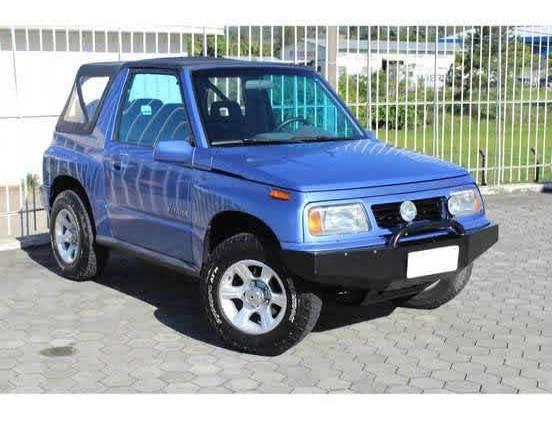 Suzuki Vitara 1.6 Jlx Canvas Top 4x4 8v Gasolina 2p Manual