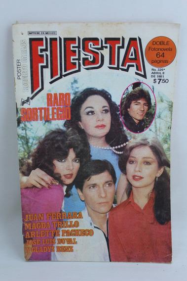 L4166 Fotonovela Fiesta Numero 325 Abril 8 De 1981