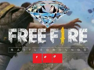 Free Fire 100 Diamantes + 10 De Regalo!!