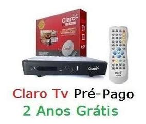 Receptor Claro Tv Livre Gratis Pre-pago 2 Anos