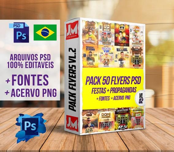 Flyers/banners Pack Para Eventos Psd 100% Editaveis