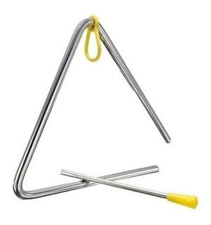 Triangulo De Metal 5 Pulgadas Percusión Parquer Cuota