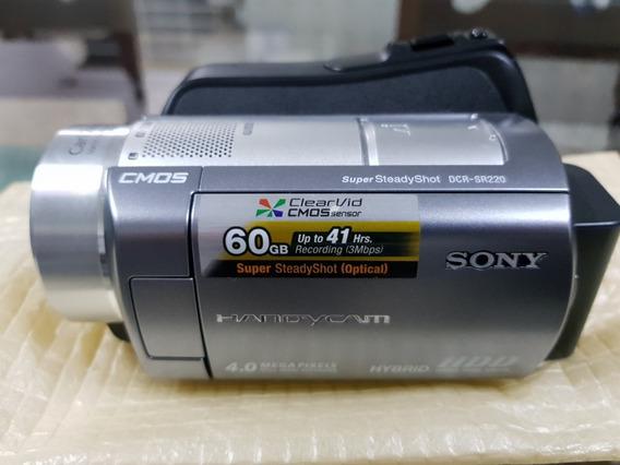 Filmadora Sony Handycam Dcr-sr220