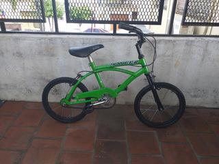 Bicicleta Pioneer Rodado 14 Playera Nene Lista Para Usar
