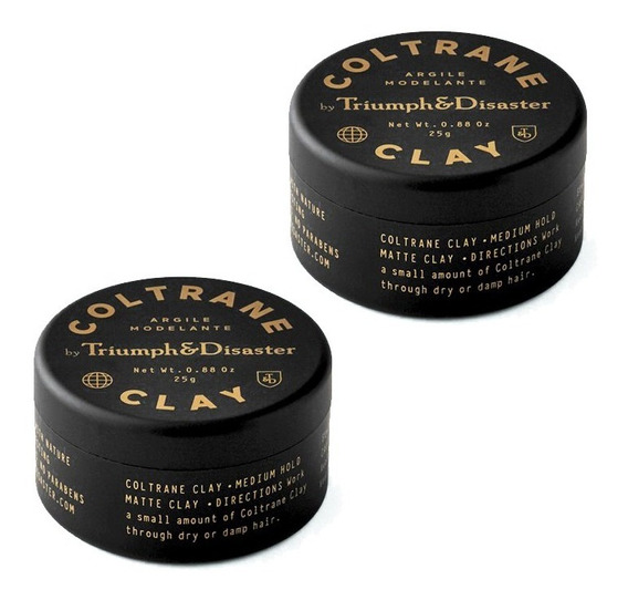 Coltrane Clay Mini (x2) - Cera Para Cabello T&d