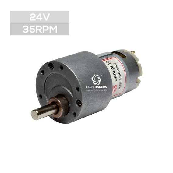 Micro Motor Dc C/ Cx Redução 24v 35rpm 5.5kgf.cm + Datasheet