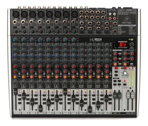 Consola Behringer Xenyx Qx2222usb Nuevo Garantia