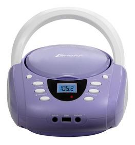 Rádio Portátil Boombox - Cd/usb/aux/fm Lenoxx Bivolt Bd120