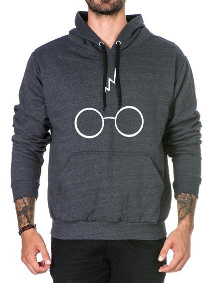 Blusa Harry Potter Óculos Casaco De Frio Moletom Promoção