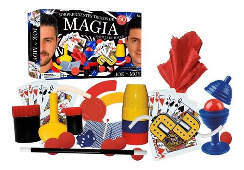 Juego De Magia Joe Y Moy  | Más De 50 Trucos