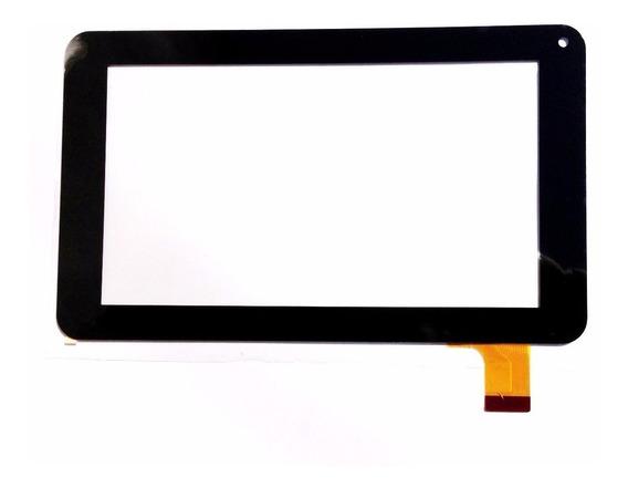 Tela Vidro Touch Tablet Dl Lcd075 86vs Preto 7 Polegadas