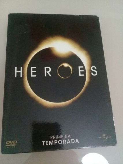 Bix Dvds Heroes 1° Temporada 6 Dvds