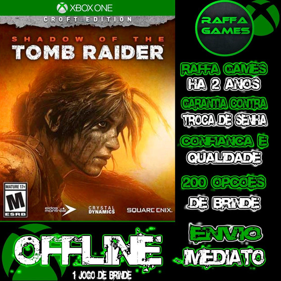 Shadow Of The Tomb Raider Croft Edition Xbox One Offline