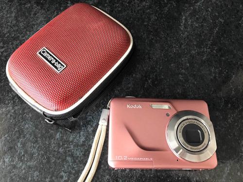 Câmera Digital Kodak C180 Rosa