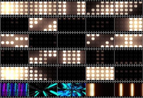 A2179 - 30 Loops Efeitos Resolume Efeitos Grandvj Painel Led