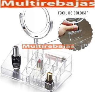 Organizador De Joyas Maquillajes Con Espejo