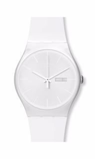 Reloj Swatch Dama White Rebel Suow701 Agente Oficial