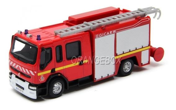 Caminhão Bombeiros Renault Premium Bburago Bur-32002