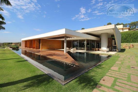 Casa Com 5 Dormitórios À Venda, 970 M² Por R$ 7.900.000 - Condomínio Fazenda Da Grama Golf Club - Itupeva/sp - Ca1469