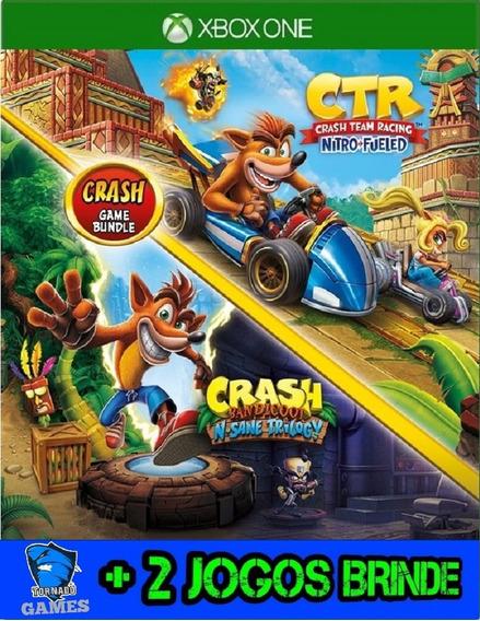 Crash Bandicoot + Ctr Nitro Fueled - Xbox One - Midia Dig.
