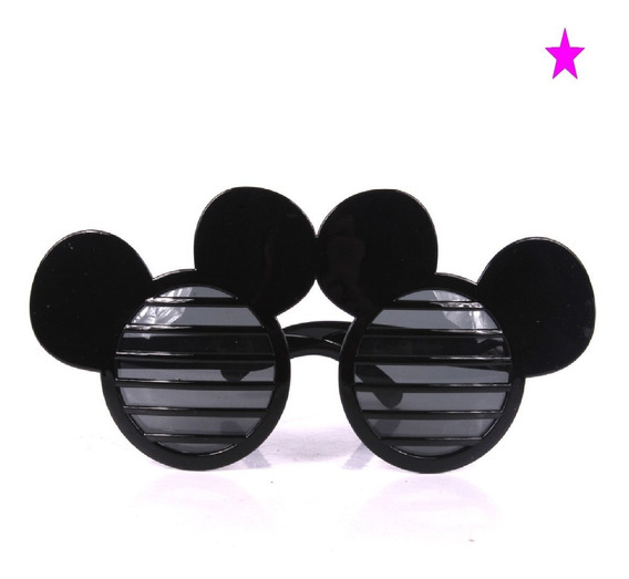 1 Anteojo Gafas Cotillon Fiesta Mickey Disfraz Souvenir